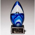 Blue Art Glass Action Awards' Exclusive!