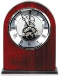 Rosewood Piano Finish Arch Clock Arch Awards