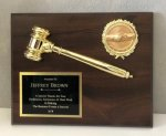 Economy Gavel Plaque Economy Plaque Awards