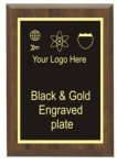 Cherry Finish Plaque Economy Plaque Awards