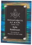 Painted Acrylic Stand-Off Plaque Award FAU Awards