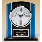 Blue and Black Clock FAU Awards