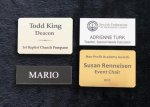 Engraved name badges Name Badges | Plates