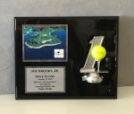 Deluxe  Hole In One Plaque Piano Finish Plaques