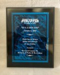 Black Plaque with Acrylic Plate Recognition Plaques