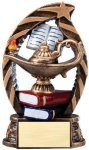 Bronze and Gold Award -Lamp of Knowledge  Scholastic Trophy Awards